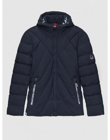 50 (L) – последний размер – куртка мужская зимняя синяя Haolilai 200001 фото 1