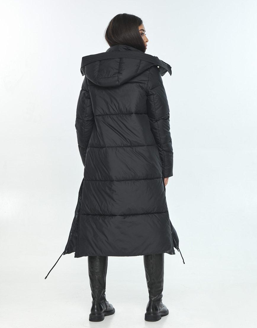 Женская куртка Moc практичная чёрная M6874 фото 3