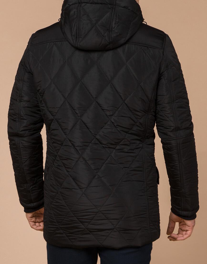 Трендовая зимняя куртка цвет черный модель 44842 фото 3