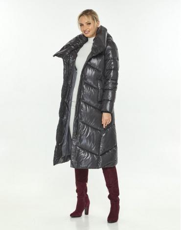 Длинная куртка женская Kiro Tokao серая 60035 фото 1