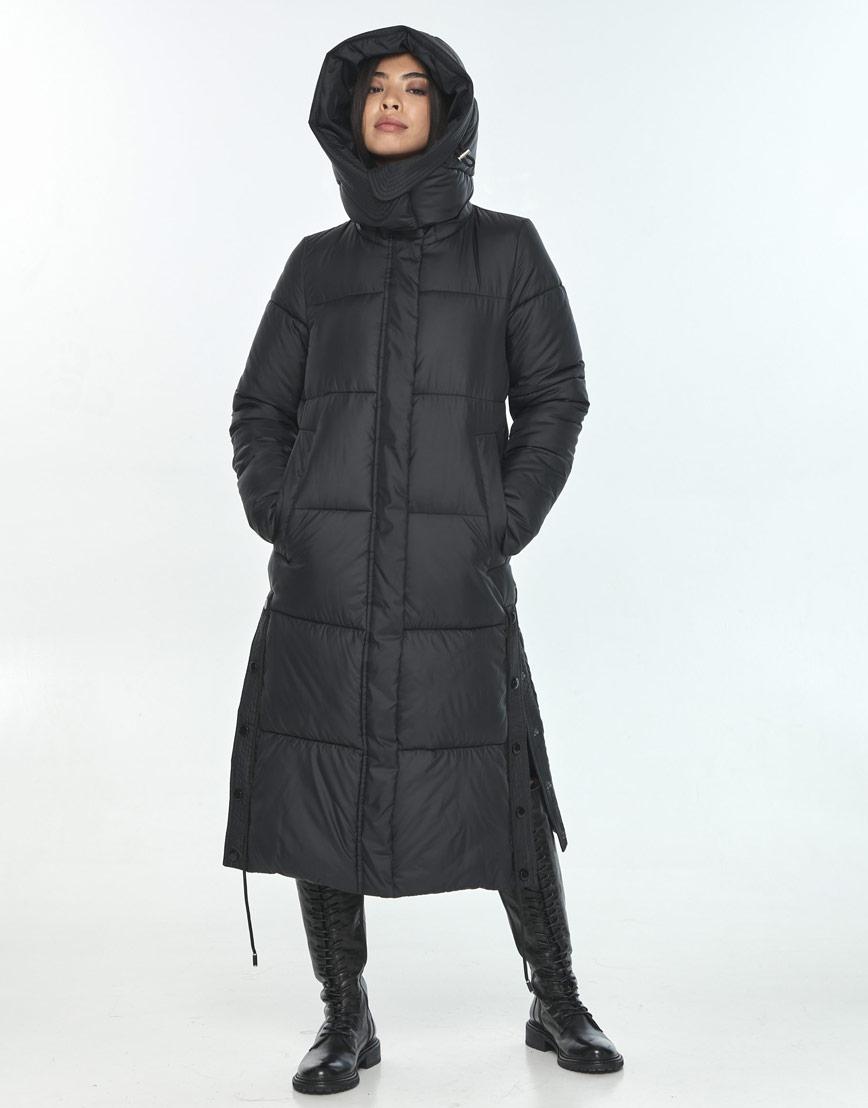 Женская куртка Moc практичная чёрная M6874 фото 1
