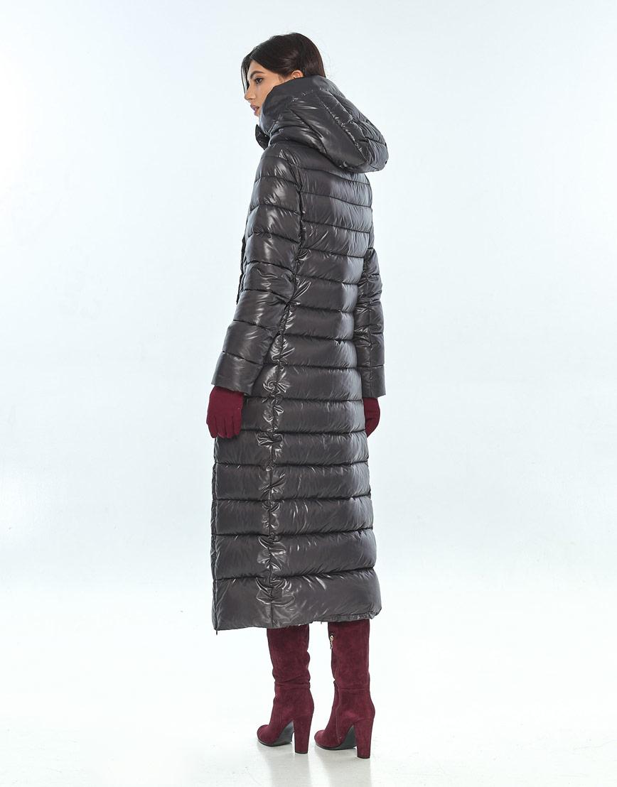 Куртка длинная женская Vivacana серая 8320/21 фото 3