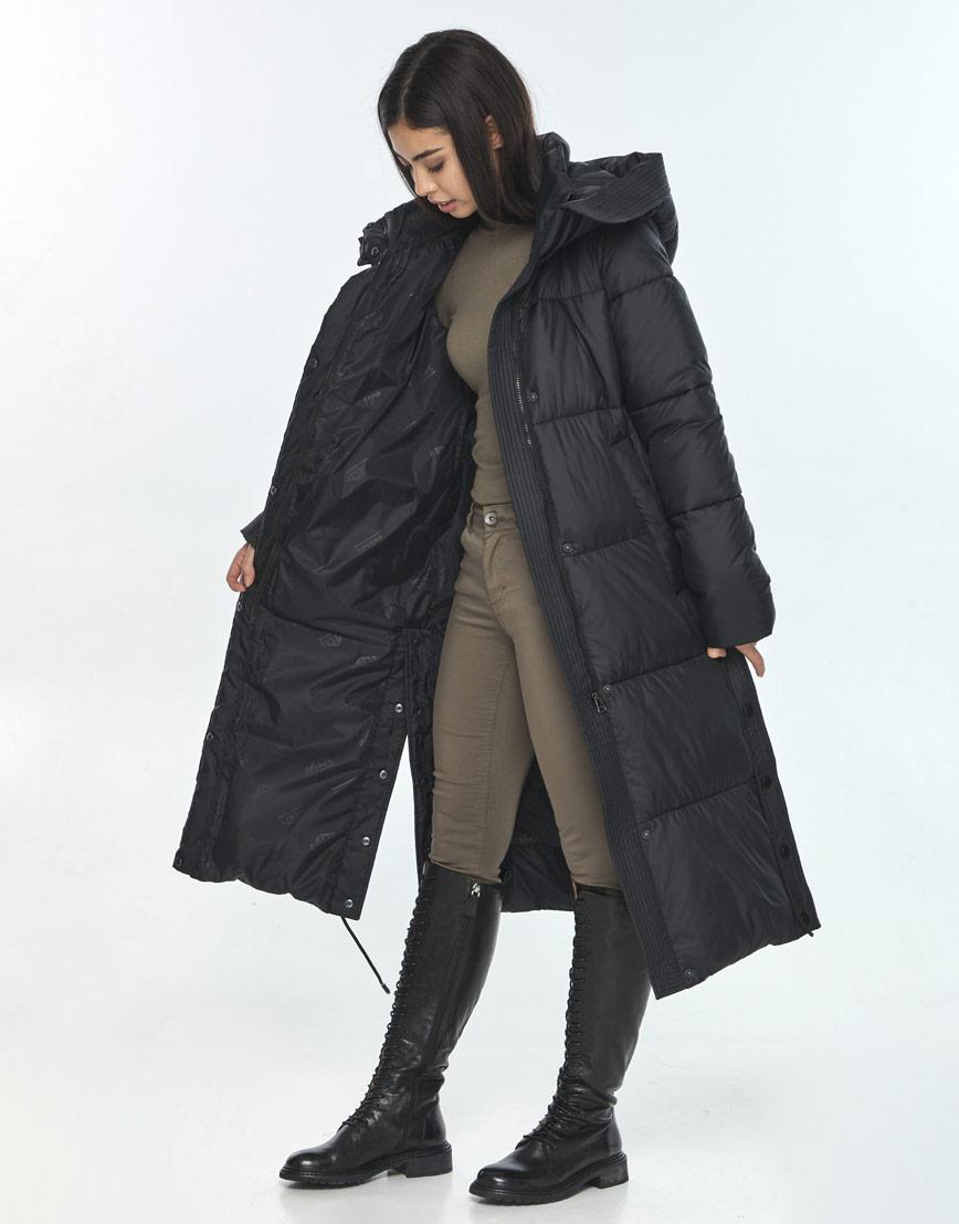 Женская куртка Moc практичная чёрная M6874 фото 2