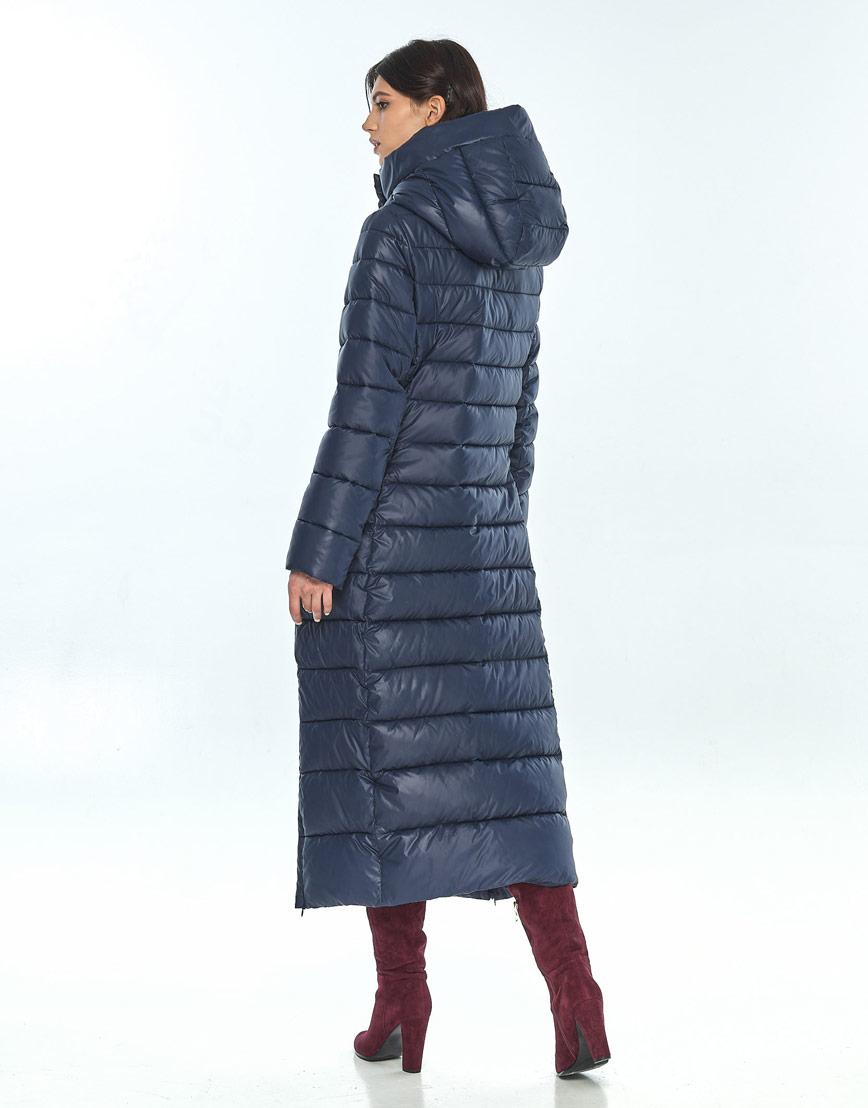 Синяя куртка женская Vivacana комфортная 8320/21 фото 3