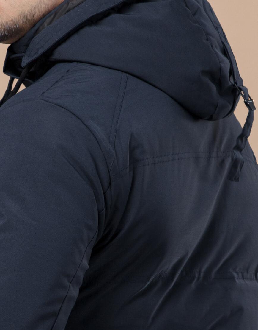 Синяя куртка зимняя фирменная мужская модель 25440