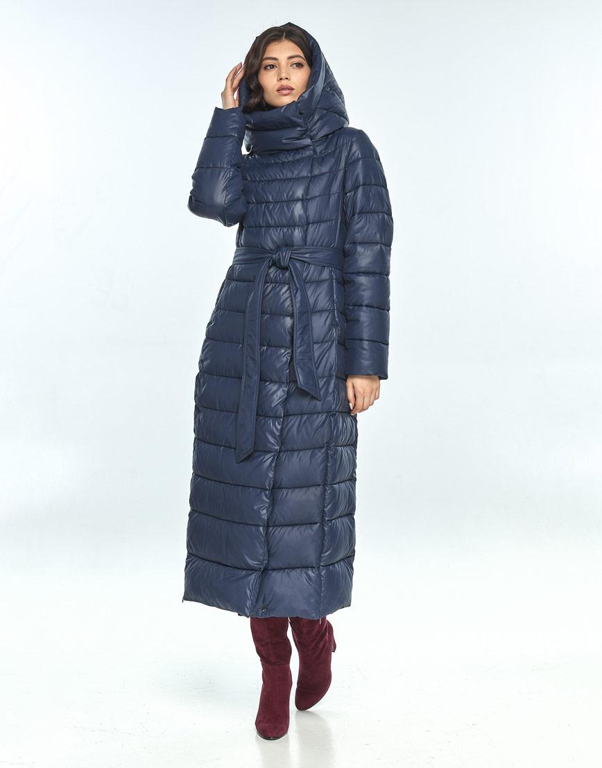 Синяя куртка женская Vivacana комфортная 8320/21 фото 1