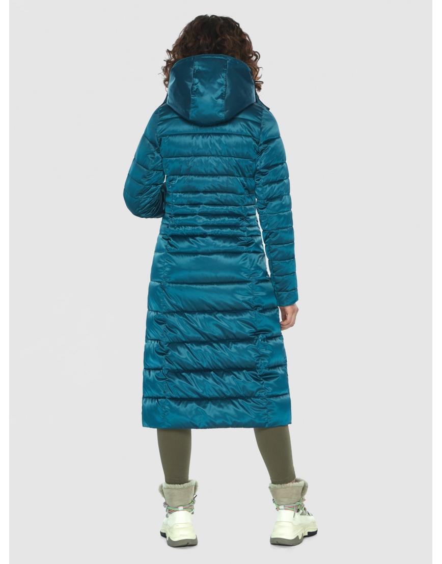 Аквамариновая курточка приталенного силуэта зимняя Moc для подростков M6430 фото 4