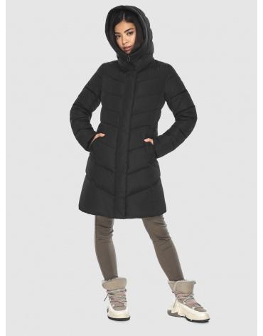 Куртка женская Moc комфортная чёрная M6540 фото 1