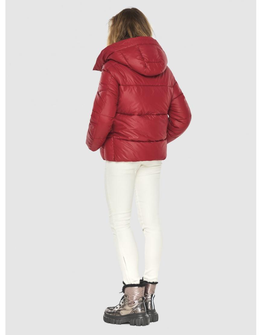 Фирменная куртка женская Kiro Tokao красная 60085 фото 4