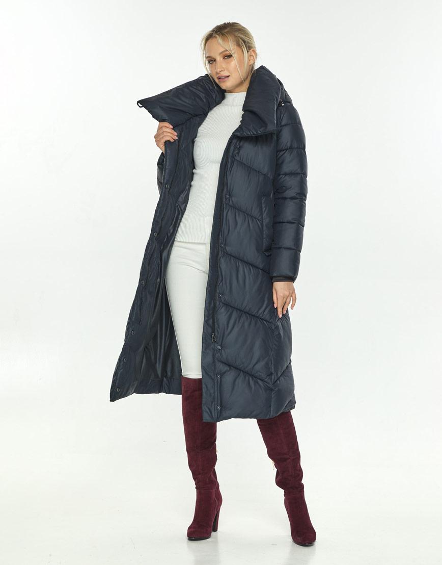 Куртка женская с манжетами синяя Kiro Tokao 60035 фото 2