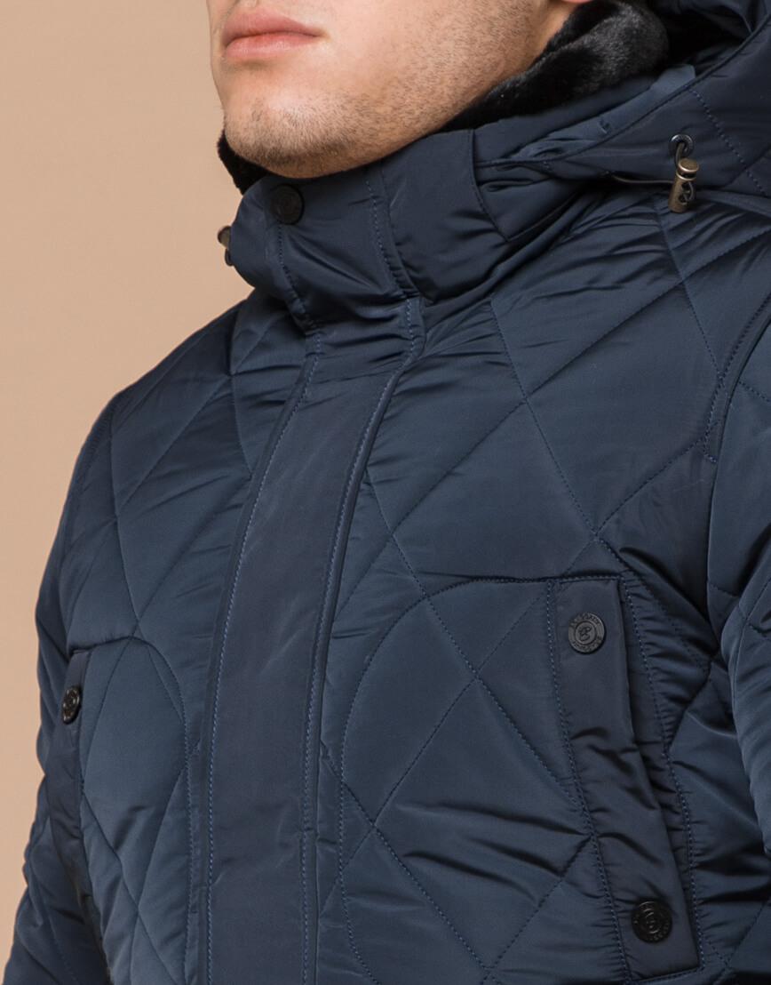 Куртка фирменная светло-синего цвета модель 44842 фото 4