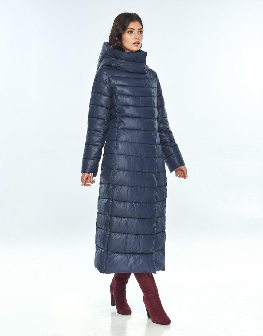 Синяя куртка женская Vivacana комфортная 8320/21 фото 2