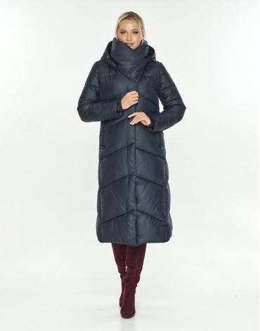 Куртка женская с манжетами синяя Kiro Tokao 60035 фото 1