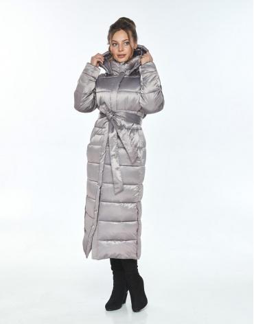 Куртка с косыми карманами женская Ajento кварцевая зимняя 21207 фото 1