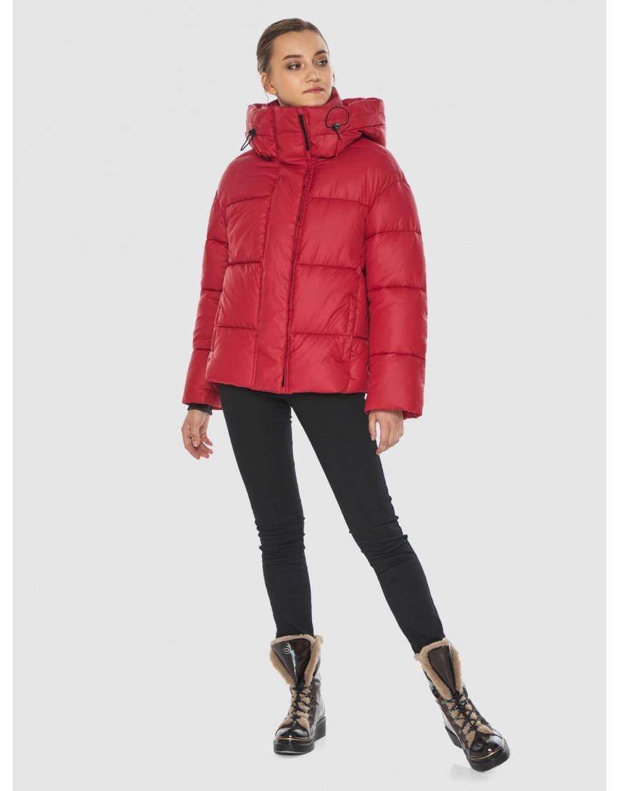 Куртка женская Wild Club красная свободного кроя 515-01 фото 1