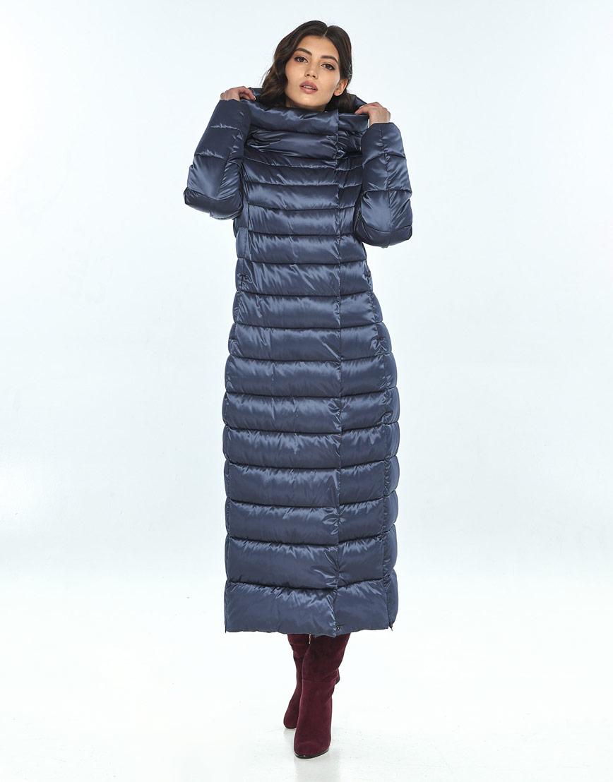 Синяя куртка женская Vivacana удобная 8320/21 фото 1