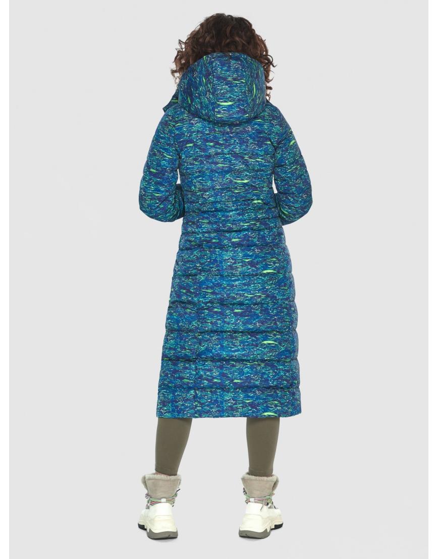 Удлинённая подростковая куртка с рисунком зимняя Moc M6430 фото 4