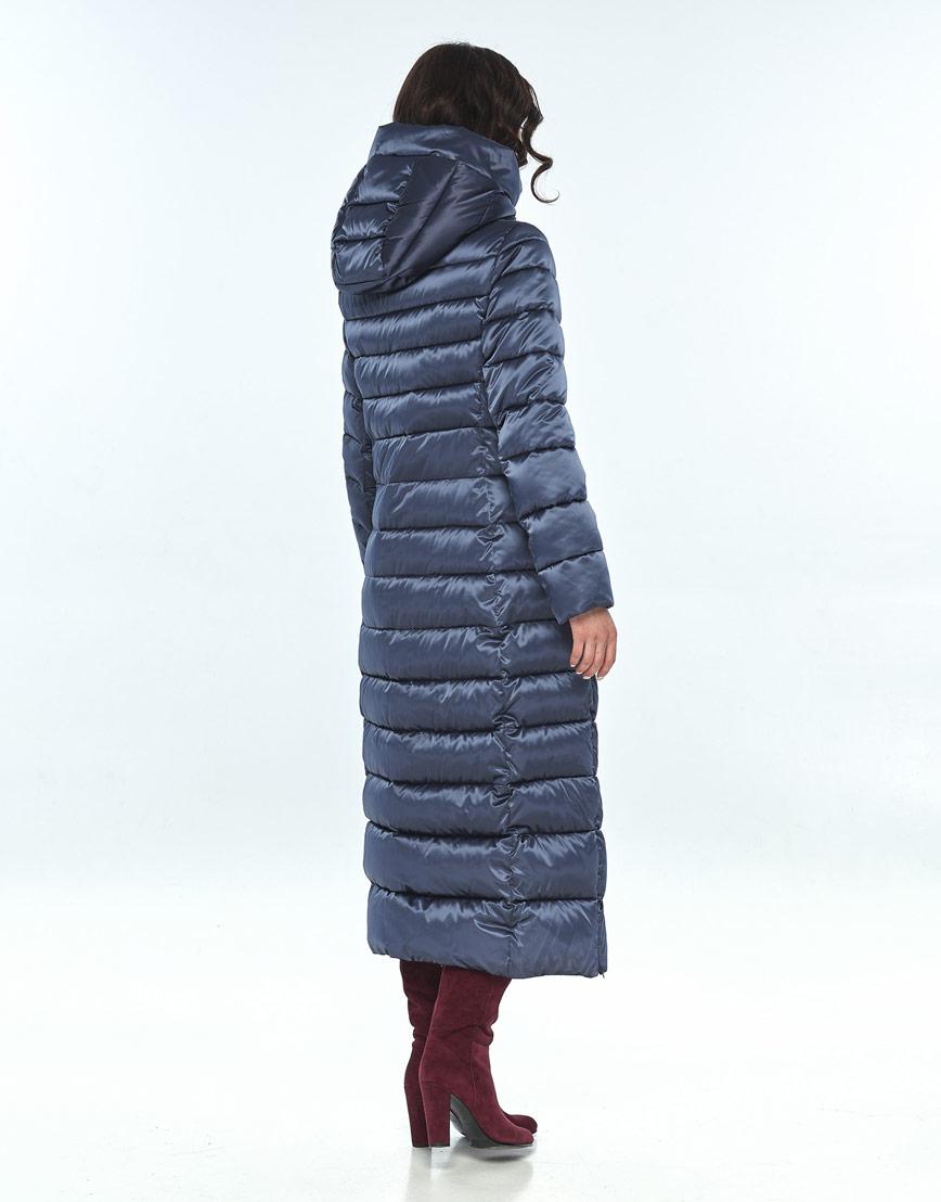 Синяя куртка женская Vivacana удобная 8320/21 фото 3