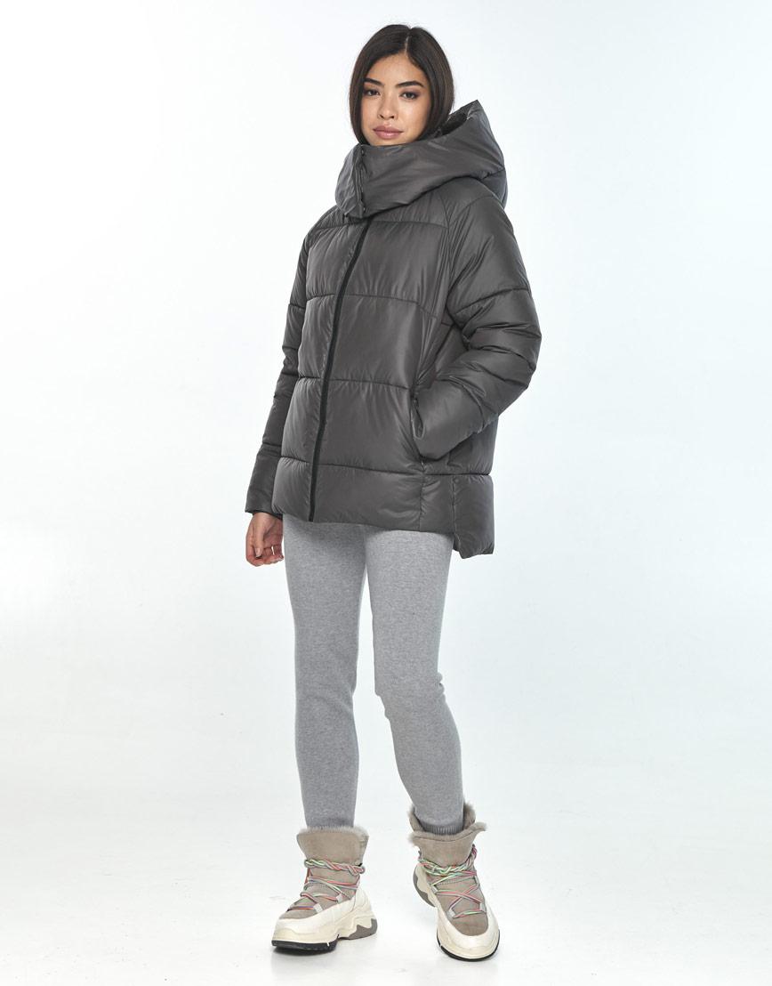 Серая женская куртка Moc комфортная M6981 фото 1