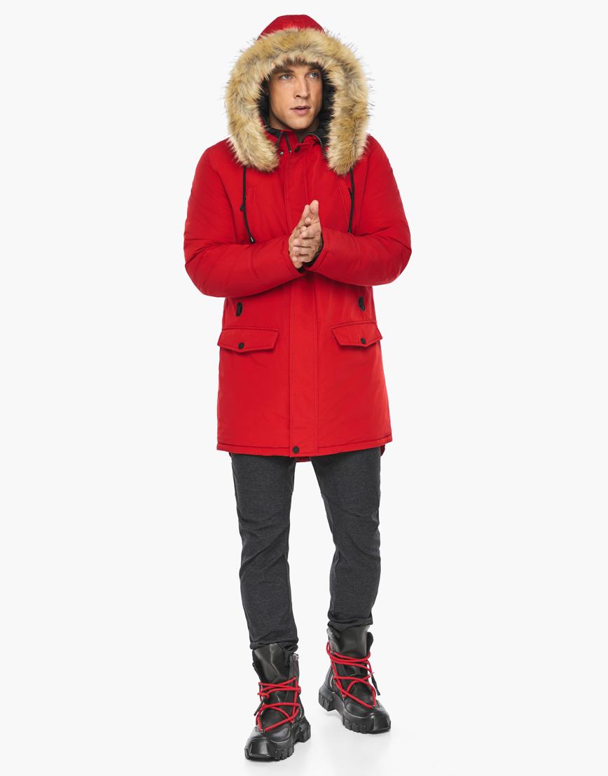 Зимний воздуховик Braggart цвет красный модель 45062 оптом фото 3