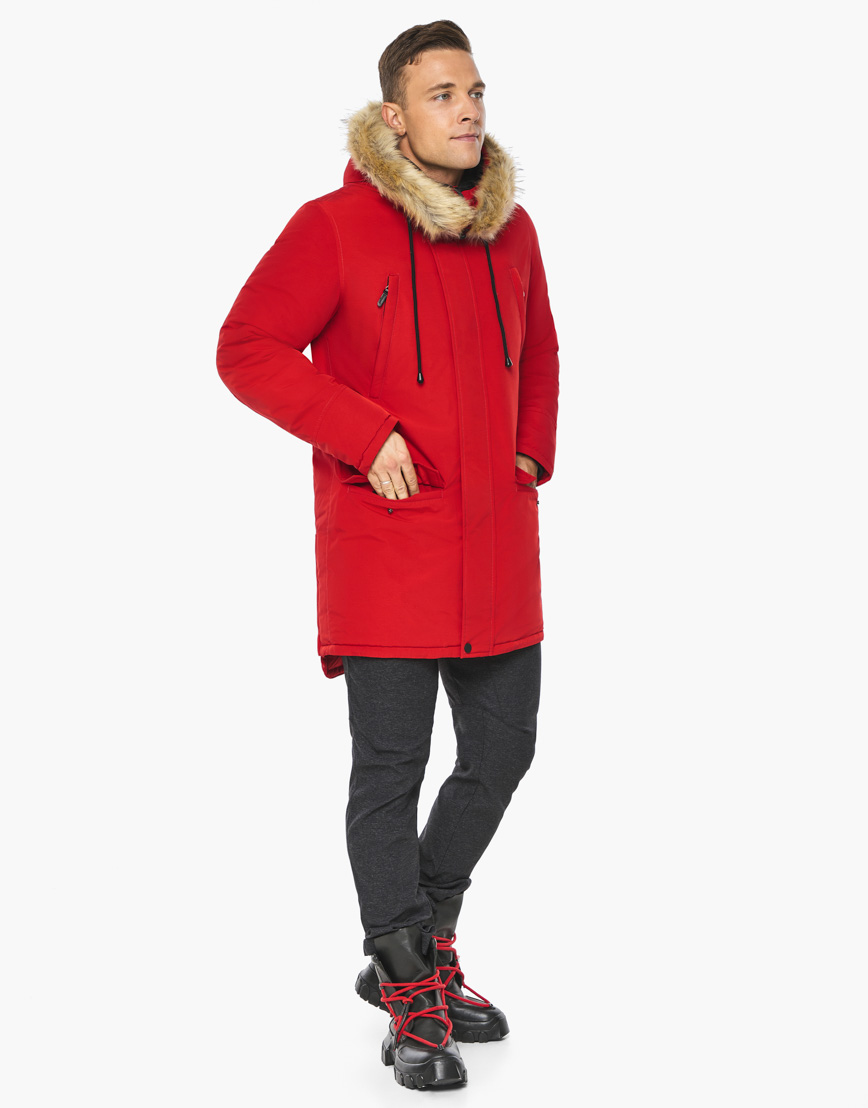 Зимний воздуховик Braggart цвет красный модель 45062 оптом фото 5