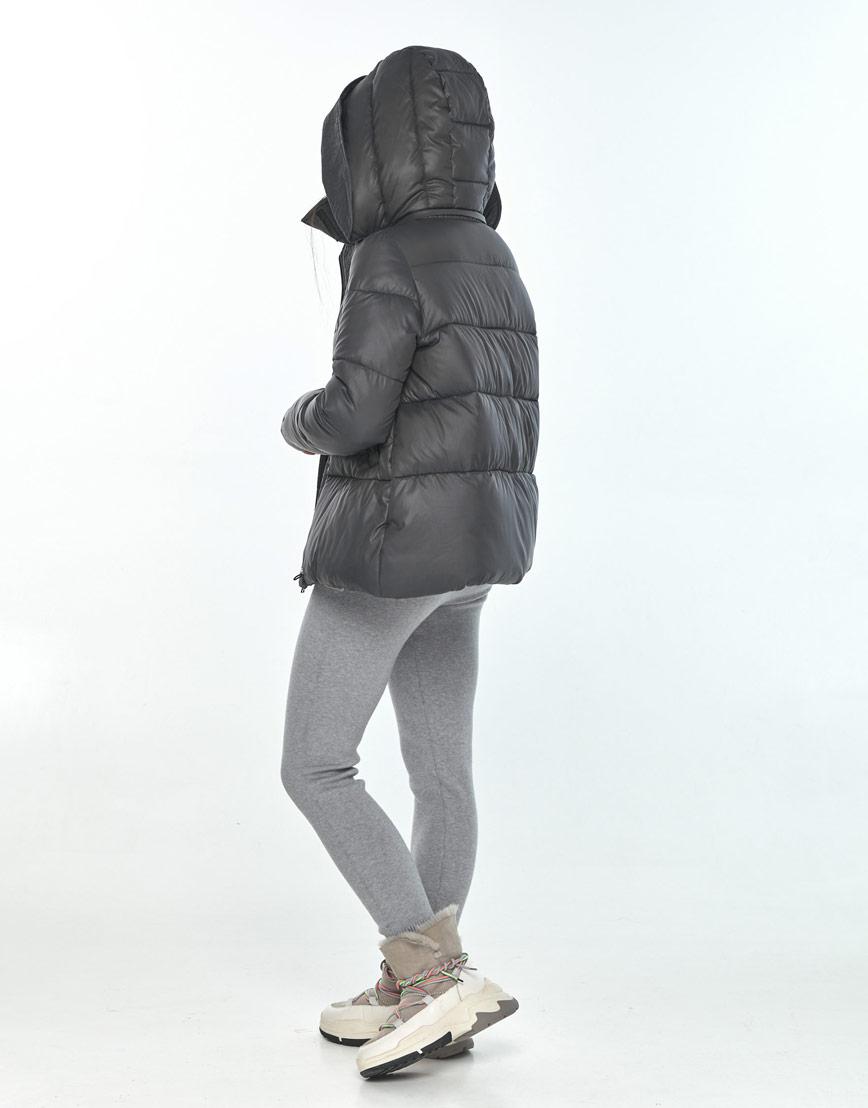 Серая женская куртка Moc комфортная M6981 фото 3