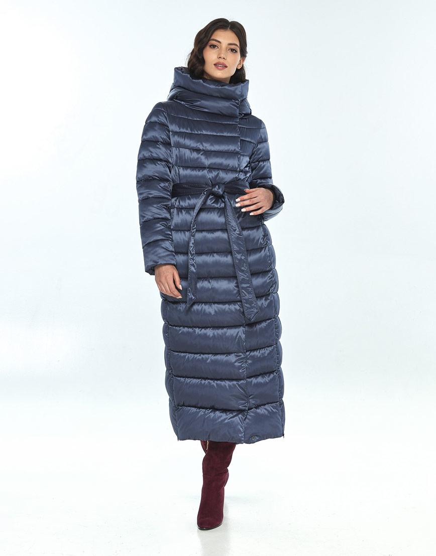 Синяя куртка женская Vivacana удобная 8320/21 фото 2