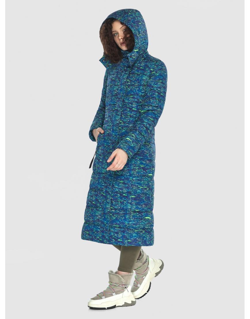 Удлинённая подростковая куртка с рисунком зимняя Moc M6430 фото 5