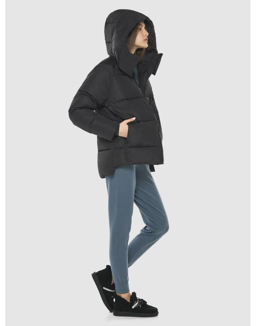 Чёрная куртка Vivacana подростковая с капюшоном 7354/21 фото 1