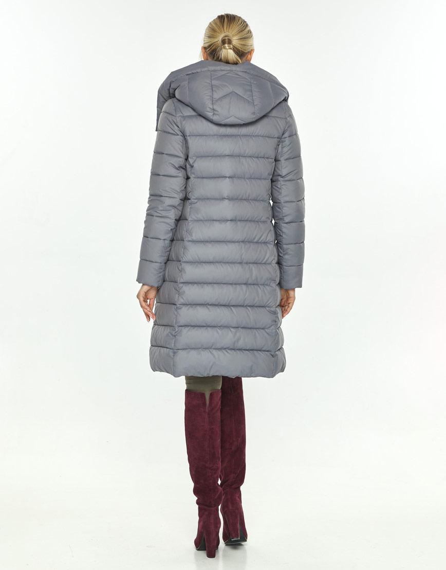 Серая куртка на молнии женская Kiro Tokao 60084 фото 3