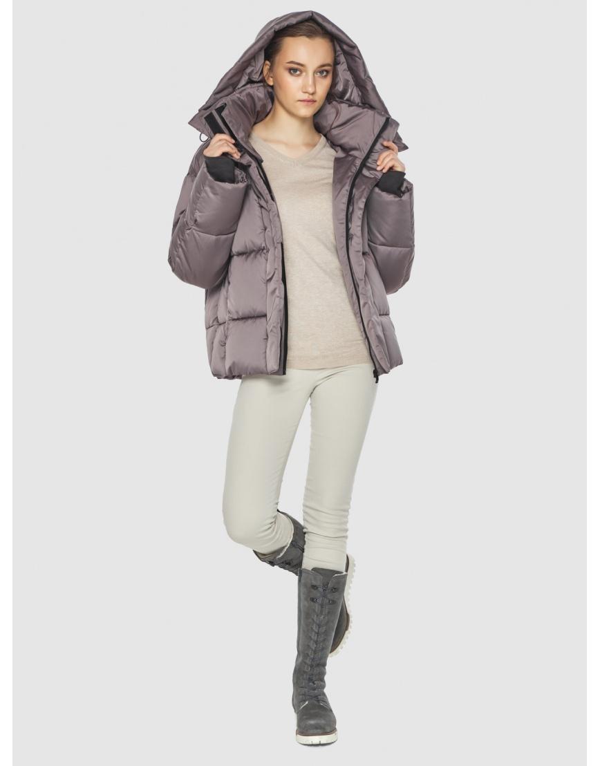 Пудровая женская куртка Wild Club 515-01 фото 2