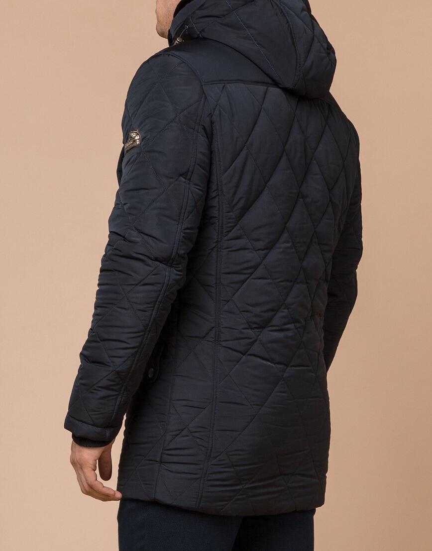 Теплая куртка темно-синего цвета модель 44842 фото 3