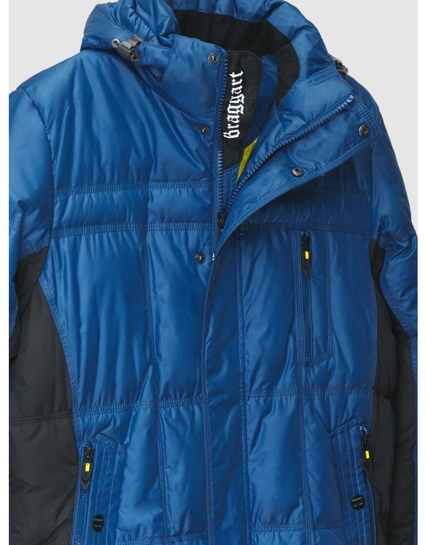 48 (M) – последний размер – куртка с капюшоном мужская зимняя Braggart синяя 200006 фото 3