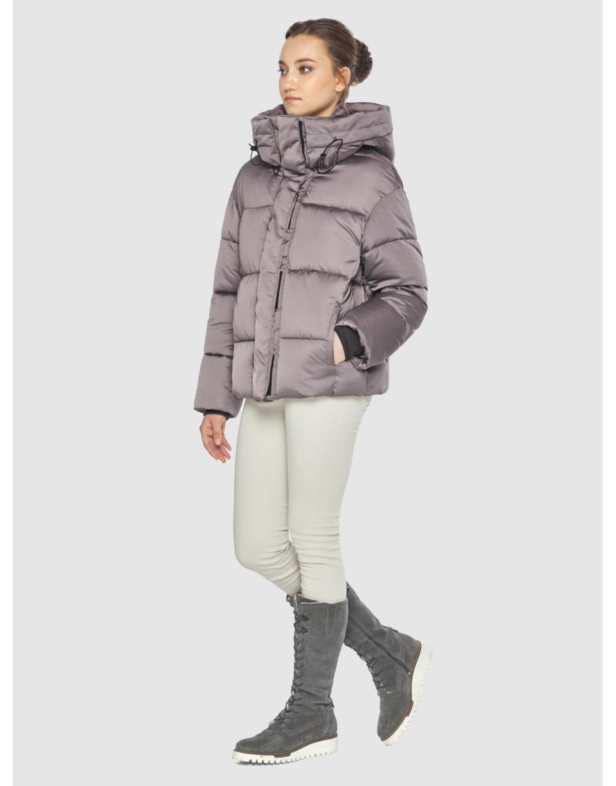 Пудровая женская куртка Wild Club 515-01 фото 3