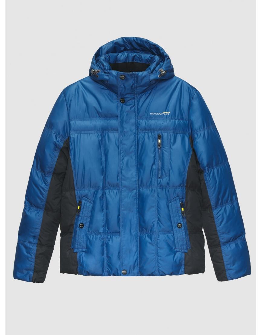 48 (M) – последний размер – куртка с капюшоном мужская зимняя Braggart синяя 200006 фото 1