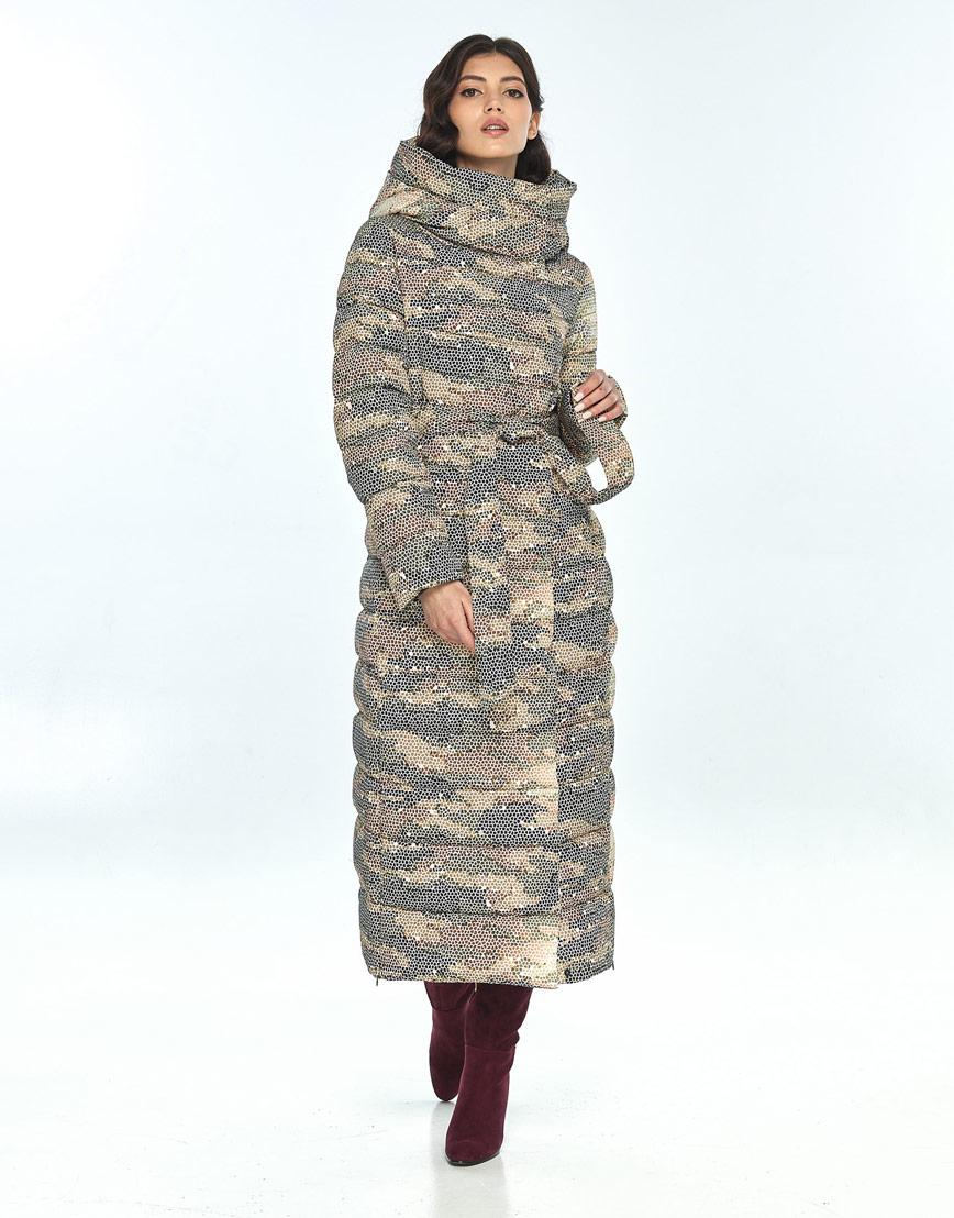 Куртка с рисунком женская Vivacana фирменная 8320/21 фото 2