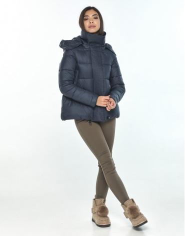 Женская синяя куртка Moc трендовая M6981 фото 1