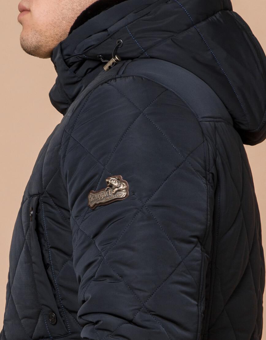 Теплая куртка темно-синего цвета модель 44842 фото 6