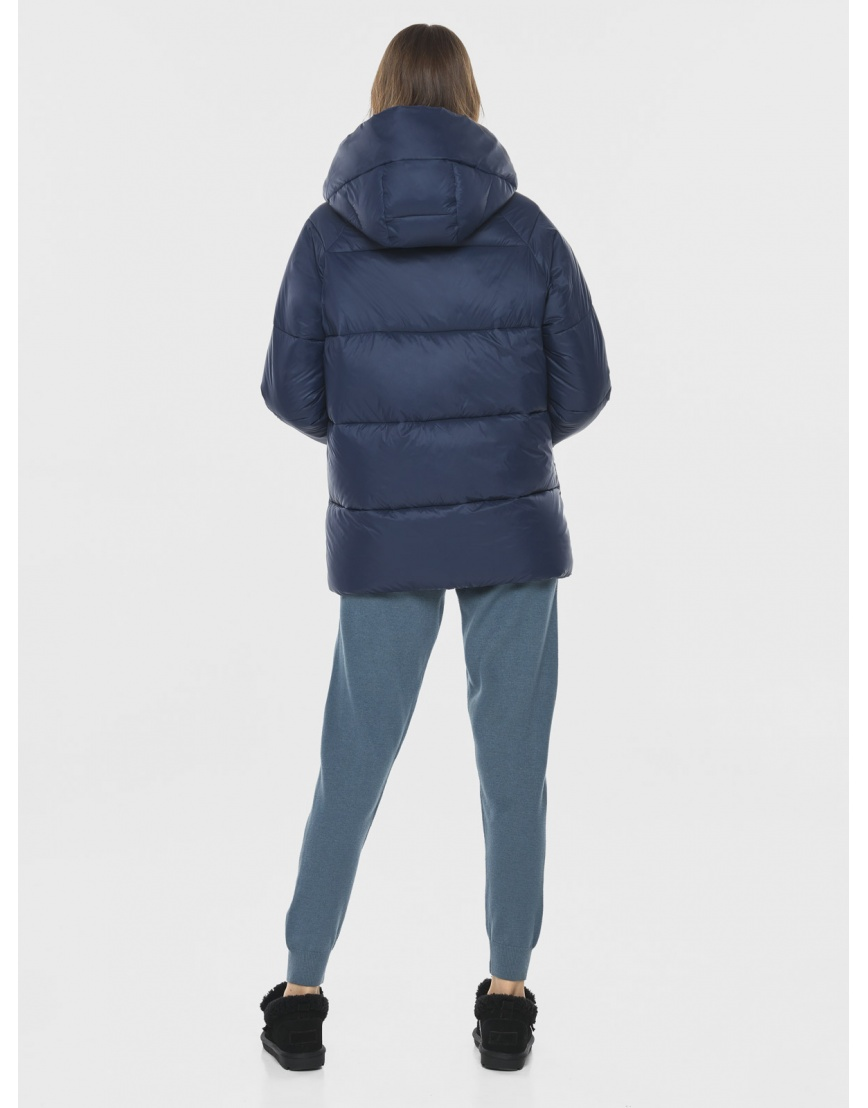 Короткая куртка синяя подростковая Vivacana 7354/21 фото 4