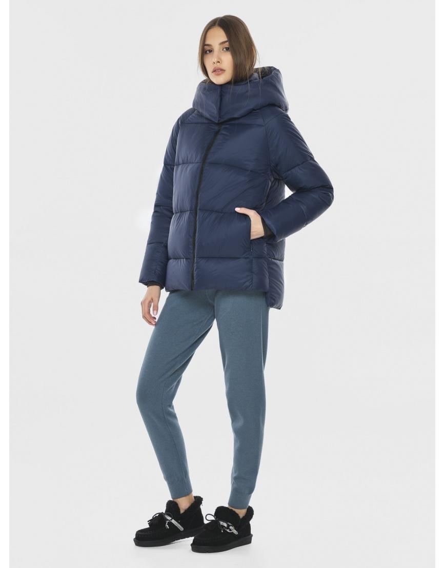 Короткая куртка синяя подростковая Vivacana 7354/21 фото 1