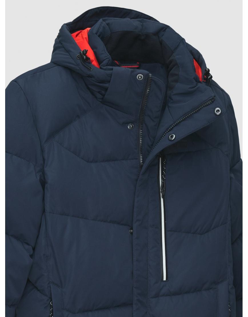 46 (S) – последний размер – синяя куртка с карманом на груди мужская Malidinu на зиму 200007 фото 3