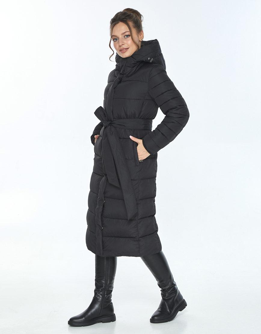 Женская куртка Ajento фирменная зимняя чёрная 21152 фото 2