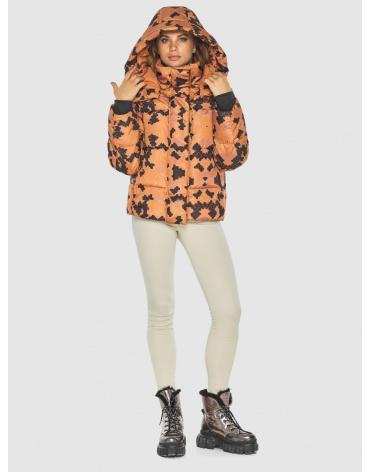 Куртка с рисунком женская фирменная Kiro Tokao 60085 фото 1