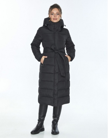 Женская куртка Ajento фирменная зимняя чёрная 21152 фото 1