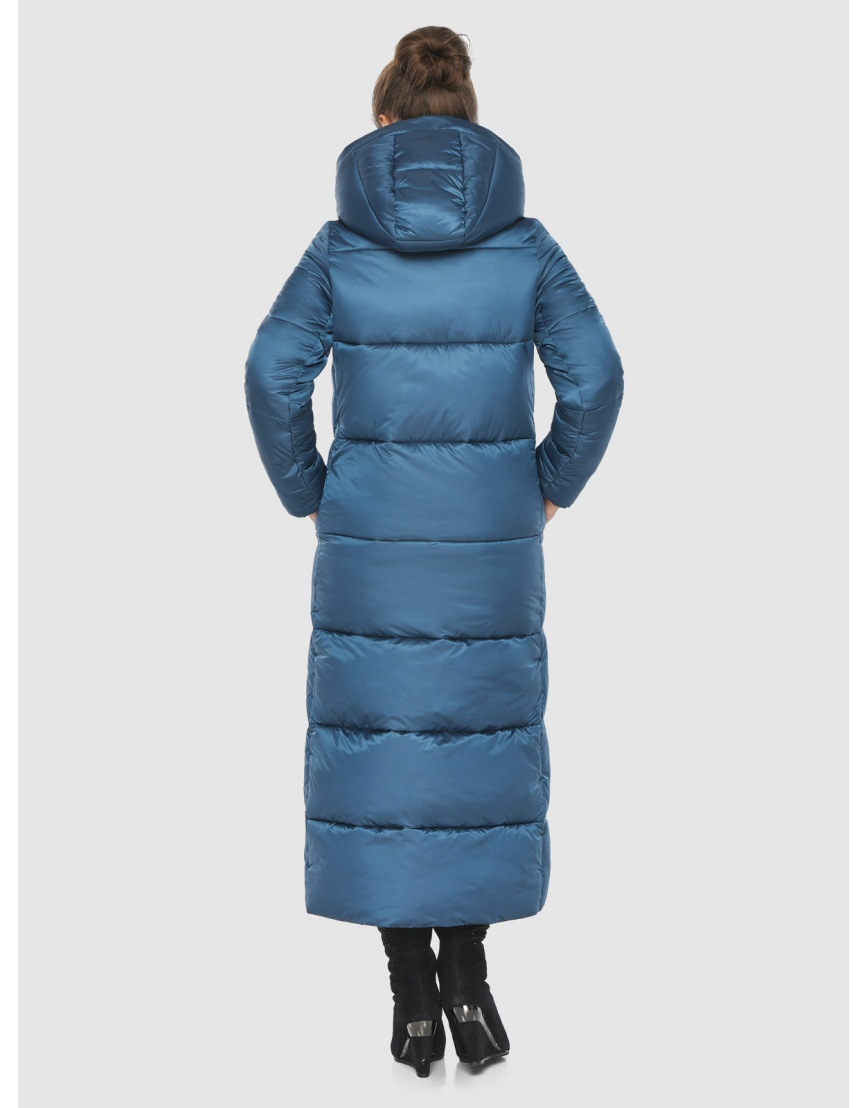 Женская куртка тёплая Ajento аквамариновая 21972 фото 4
