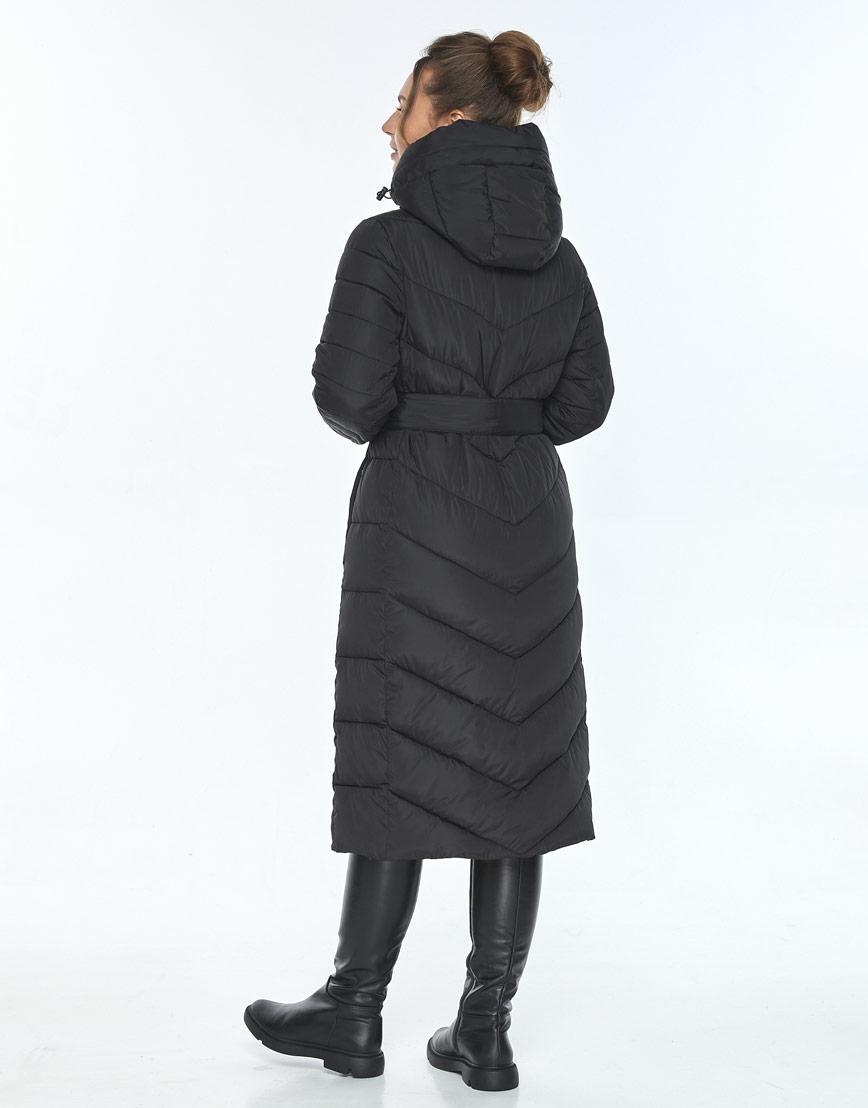 Женская куртка Ajento фирменная зимняя чёрная 21152 фото 3