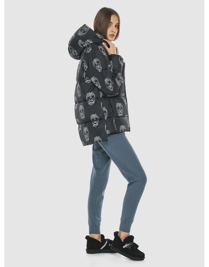 Куртка свободного силуэта с рисунком подростковая Vivacana 7354/21 фото 6