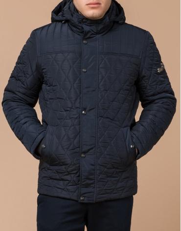 Практичная мужская куртка синего цвета модель 24534 фото 1
