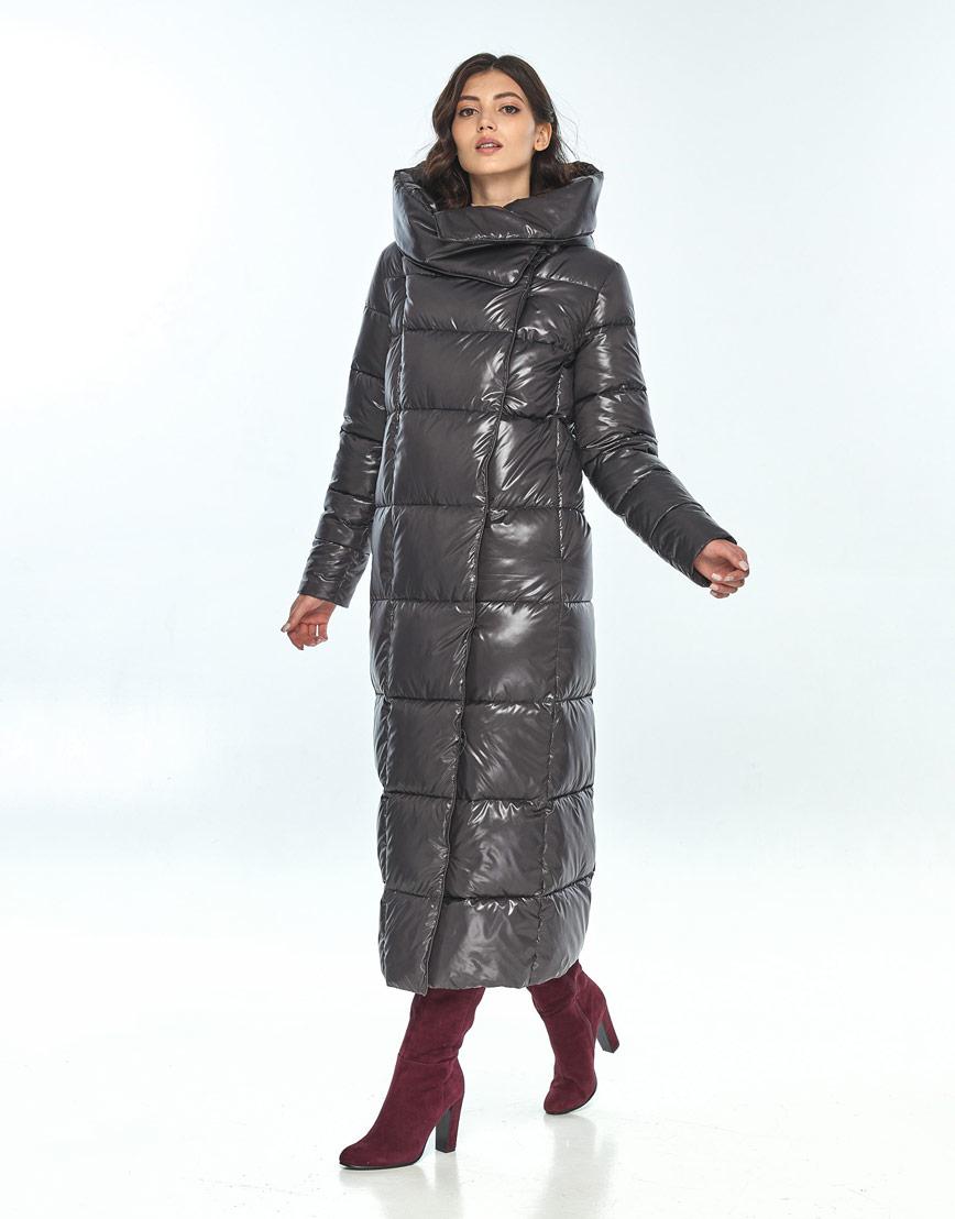 Серая женская модная куртка Vivacana 8706/21 фото 1