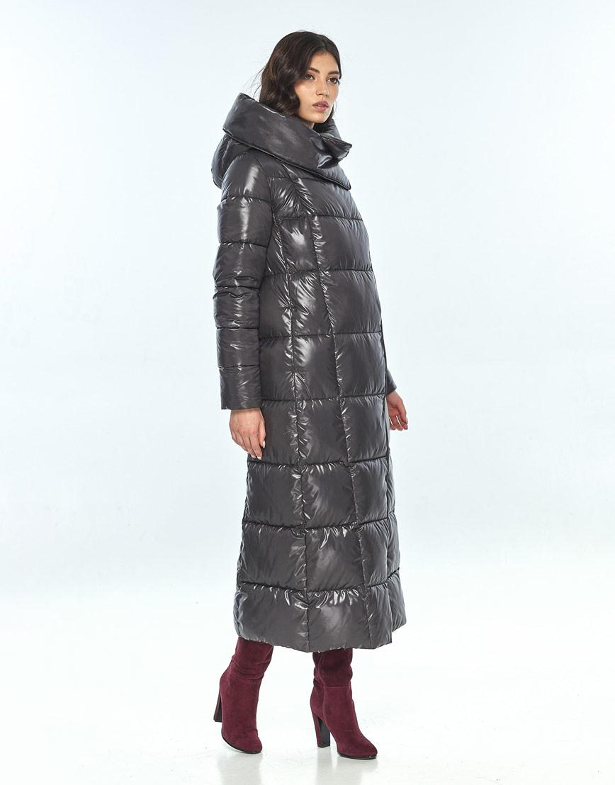 Серая женская модная куртка Vivacana 8706/21 фото 2